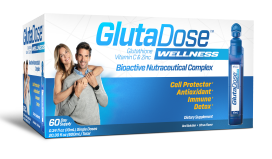 1 box of GlutaDose Wellness 60 doses